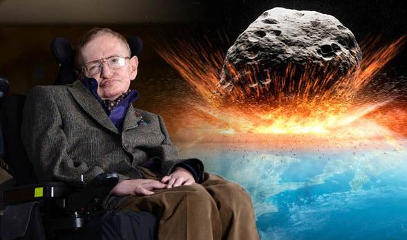 คำเตือนของสตีเฟน ฮอว์คิง#3 การพุ่งชนของดาวเคราะห์น้อยอาจเป็นสาเหตุของจุดจบมนุษยชาติ