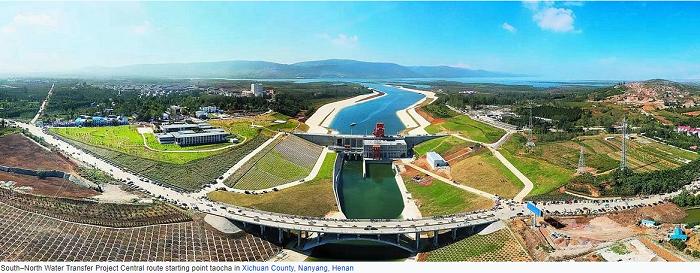 โครงการลำเลียงน้ำที่ใหญ่ที่สุดในโลกของจีน (South–North Water Transfer Project)
